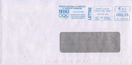 France 2006, National Olympic Committee / CNOSF / Blue Meter / EMA / Lettre - Other