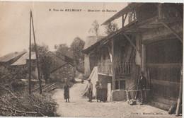 CPA Belmont  (01) On Pose Pour Le Photographe Quartier De  Rajean     Ed Marcellin N° 9  RARE - Autres Communes