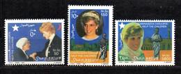 SOMALIA, 1997 - SERIE, SET - LADY DIANA & MADRE TERESA , MNH** - Somalie (1960-...)