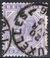 1883 - Nr 41  (°)    Bruxelles 7 - 1883 Leopoldo II