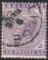 1883 - Nr 41  (°)     Liege - 1883 Leopoldo II