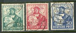 Germany USED 1949 Herman Hildebrant Wedigh - American/British Zone