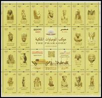 Egypt - 2021 - NEW - Mini Sheet - ( THE PHARAOHS Golden Parade - 3 April 2021 ) - MNH (**) - Archaeology