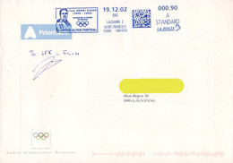 Switzerland / Suisse 2002, Father / Père Henri Didon / IOC / CIO / Blue Meter / EMA - Other