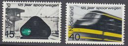 Niederlande  Mi. 824-825 Postfrisch Eisenbahn  1964 (80132 - Sin Clasificación