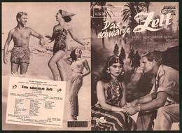 Filmprogramm DNF, Das Schwarze Zelt, Anna Maria Sandri, Anthony Steel, Regie: Brian D. Hurst - Magazines
