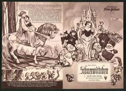Filmprogramm IFB Nr. 523, Schneewittchen Und Die Sieben Zwerge, Walt Disney, Zeichtrickfilm - Magazines