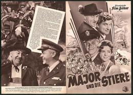 Filmprogramm IFB Nr. 3026, Der Major Und Die Stiere, Attila Hörbiger, Fritz Tillmann, Regie: Eduard V. Borsody - Magazines