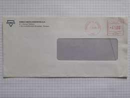 EMA ARMCO MERCHANDISING S.A. 1160 AUDERGHEM - Bruxelles 02/12/1991 Pour 78190 Trappes France - Covers & Documents