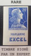 R1491/434 - 1955/1959 - TYPE MARIANNE DE MULLER - N.D. - N°1011Bf NEUF** CdF + PUB ➤➤➤ Signé Par 3 Experts (Calves...) - 1955- Marianne Van Muller