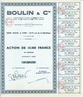 Titre Ancien - Boulin & Compagnie - Société Anonyme - - Sin Clasificación