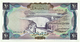 IRAQ - 10 Dinars ( 1971 ) - Pick 60 - Sign. 17 - Serie 5/13 - Wmk Falcon's Head - Iraq