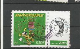3569A  Timbre Personnalisé      Le Marsupilami          Oblitéré   (clasvert12) - Gepersonaliseerde Postzegels