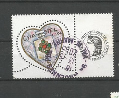 3632A  Timbre Personnalisé      SAINT VALENTIN          Oblitéré   (clasvert12) - Gepersonaliseerde Postzegels