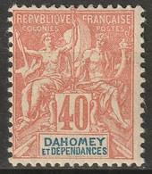 Dahomey 1904 Sc 11 Yt 12 MH* - Nuovi