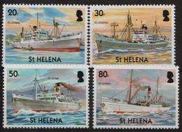 ST HELENA - 2006 Merchant Ships. Scott 857-860. MNH - Saint Helena Island