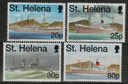 ST HELENA - 1998 Mail Ships. Scott 707-710. MNH - Saint Helena Island