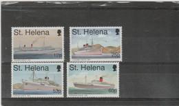 ST HELENA - 1996 Mail Ships. Scott 666-669. MNH - Saint Helena Island