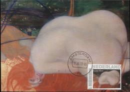 CM Netherlands Carte Maximum Maximum Gustav Klimt - Nudes