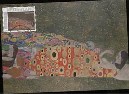 CM Netherlands Carte Maximum Maximum  Nude Gustav Klimt - Nudes