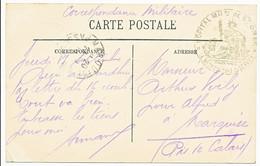 PAS DE CALAIS CP 1916 SAINT OMER HOPITAL MILITAIRE DE ST OMER - 1877-1920: Semi-moderne Periode