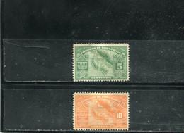 Costa Rica 1924 Yt 128-129 - Costa Rica