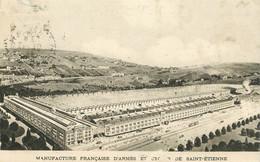 """CPA FRANCE 42 """"Saint Etienne, Manufacture Française D'Armes Et Cycles """" - Saint Etienne"""