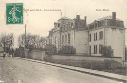 """CPA FRANCE 21 """"Is Sur Tille, Ecole Communale"""" - Is Sur Tille"""