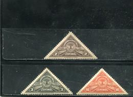 Costa Rica 1937 Yt 174-175 177 * - Costa Rica
