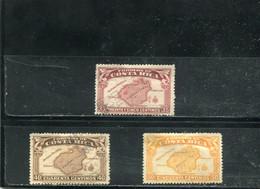 Costa Rica 1936 Yt 167-169 - Costa Rica