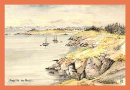 A611 / 277 56 - Presqu'Ile De RHUYS Aquarelle Robert LEPINE - Non Classificati