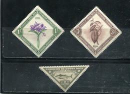Costa Rica 1937-38 Yt 178-180 * - Costa Rica