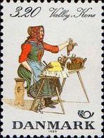 Danemark Poste N** Yv: 950/951 Yv:3,75 Euro Costumes Traditionnels Norden 89 - Ungebraucht