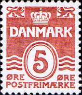 Danemark Poste N** Yv: 955 Mi:952 Postfrimærke Chiffre Sous Couronne - Ungebraucht