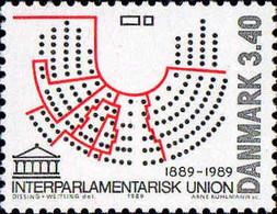 Danemark Poste N** Yv: 957 Mi:954 Centenaire De L'Union Interparlementaire - Ungebraucht