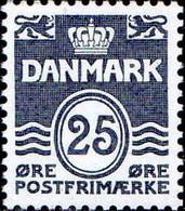 Danemark Poste N** Yv: 966/973 Yv:22 Euro Chiffre Margrethe II & Armoiries - Ungebraucht