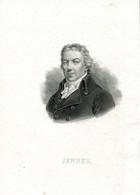 Original Antique Print 1833 Edward Jenner Doctor Medicine Vaccine Smallpox - Estampes & Gravures
