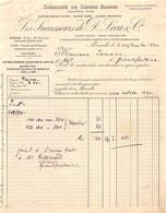 18401  36-0916   1930 SAVONS LES SUCCESSEURS DE D LECA A MARSEILLE - M. IAMANN A GRANDFONTAINE - 1900 – 1949