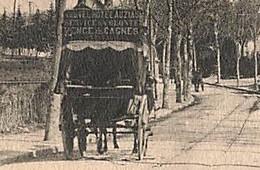 Rare La Navette De L' Hôtel AUZIAS Sur La Route De Cagnes Sur Mer à Vence Agrandie 293 PH Nancy  V110 - Vence