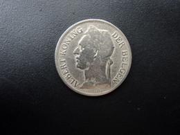 CONGO BELGE * : 1 FRANK   1921    KM 21 **     TTB - 1910-1934: Albert I