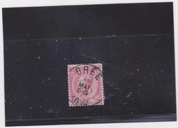 Belgie Nr 46 Bree - 1884-1891 Leopold II