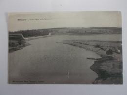 SANCHEY  Bouzey La Digue Et Le Reservoir - Other Municipalities