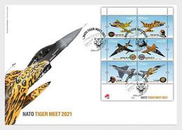 Portugal MNH ** 2021  Nato Tiger Meet FDC - Neufs