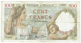 France - Billet De 100 Francs Type Sully - 7 Décembre 1939 - 100 F 1939-1942 ''Sully''