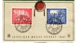 46856 - LEIPZIGER  MESSE 1947 / 48 - American/British Zone