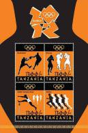 Tanzania-LONDON OLYMPICS 2012 SHEETLET OF 4 - Other