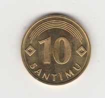 LETTONIE - 10 SANTIMI 1992 - Latvia