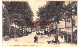 CPA CAHORS - BOULEVARD GAMBETTA - Cahors
