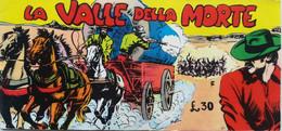 LA VALLE DELLA MORTE ED.COSMO ANNI '60 SUPPLEMENTO - SC.29 - Unclassified