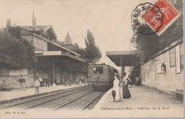 FONTENAY SOUS BOIS I - LA GARE - Fontenay Sous Bois